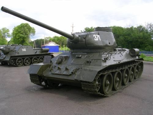 Т-34 85 мм